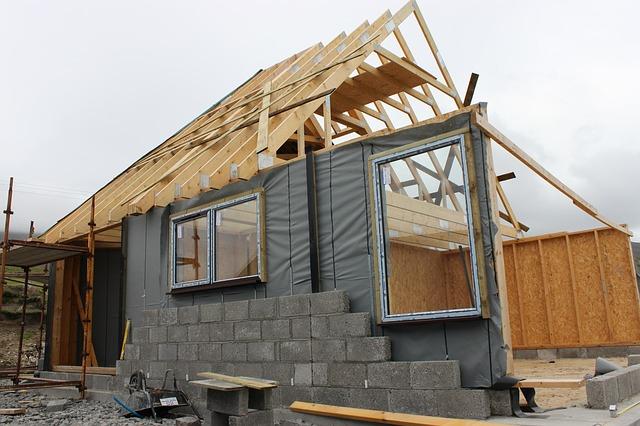 construcción de una casa